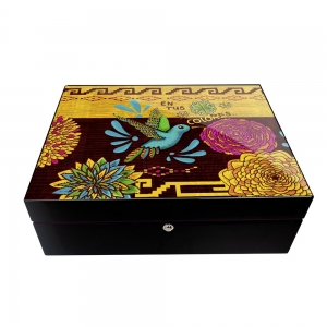 Park Lane Mexican Cigar Humidor - Magic of your Colours