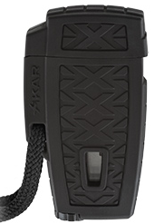 Xikar Stratosphere II Single Jet Cigar Lighter Black