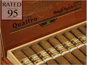 Aging Room by Boutique Blends Cigars F55 Quattro, Single Stretto Cigar 4.5x46