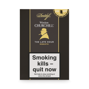Davidoff Late Hour Winston Churchill Robusto Cigars