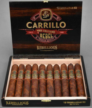 EP Carrillo Rebel Maduro Robusto Cigars