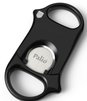 Palio Straight Cigar Cutter Black