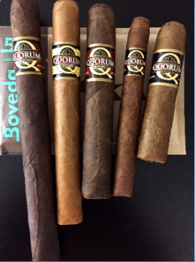 The Shades of Quorum Cigar Sampler