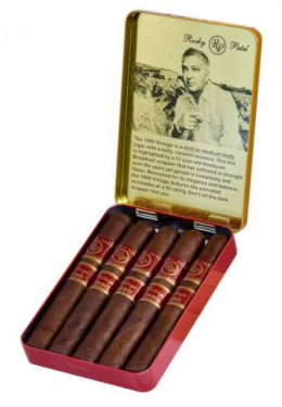 Rocky Patel Vintage 1990 Tin of 5 Cigars 4x38