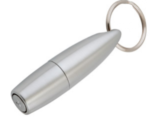 Xikar 9mm Pull Out Cigar Punch Silver