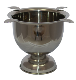 Tall Stinky Ashtray Stainless Steel
